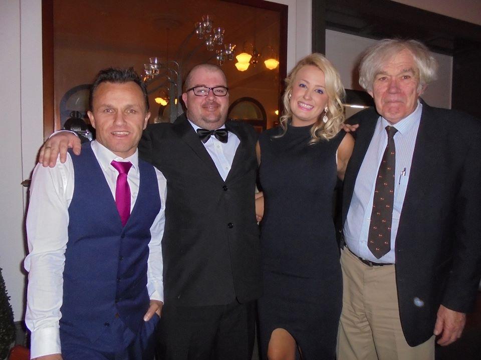 Successfully treated patients - Paul, Ryan, Krystal with Professor Clark